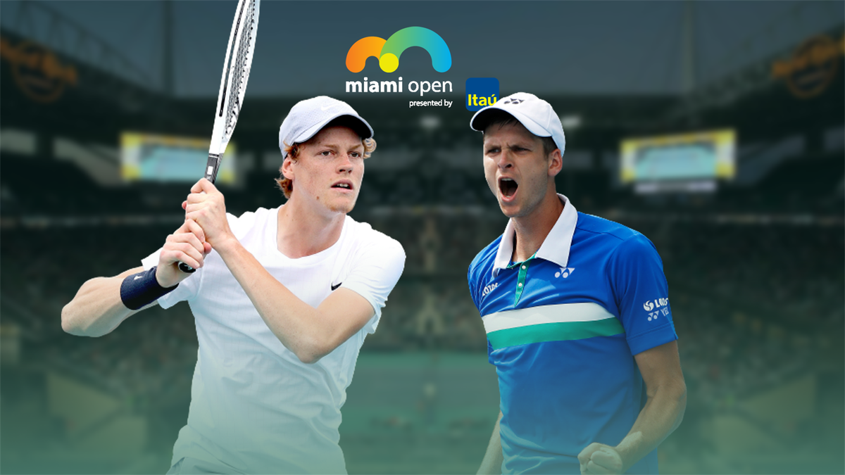 Jannik Sinner vs. Hubert Hurkacz   ATP Masters 1000 Miami 2021   Premium