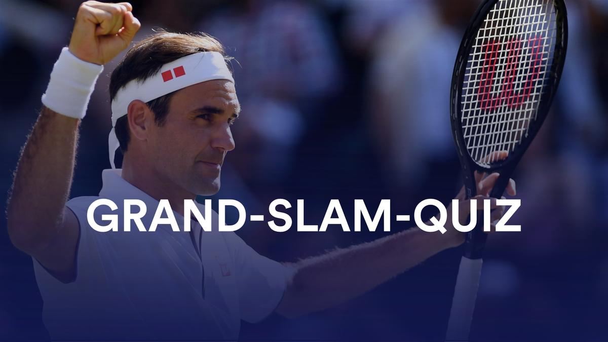 Grand-Slam-Quiz Tennis