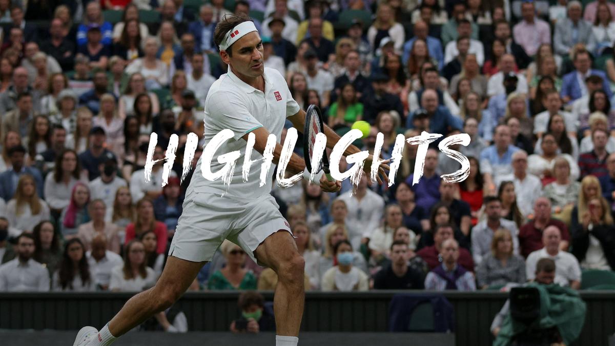 Мощь, красота и драма с травмой в матче Федерера с Маннарино