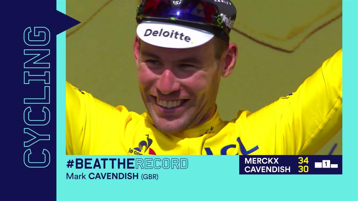 """Tour de France : """"Beat the record"""" Cavendish"""