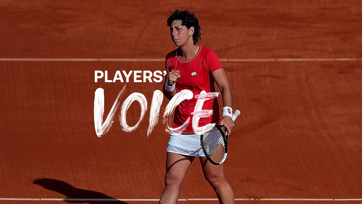 Players' Voice - Carla Suarez Navarro