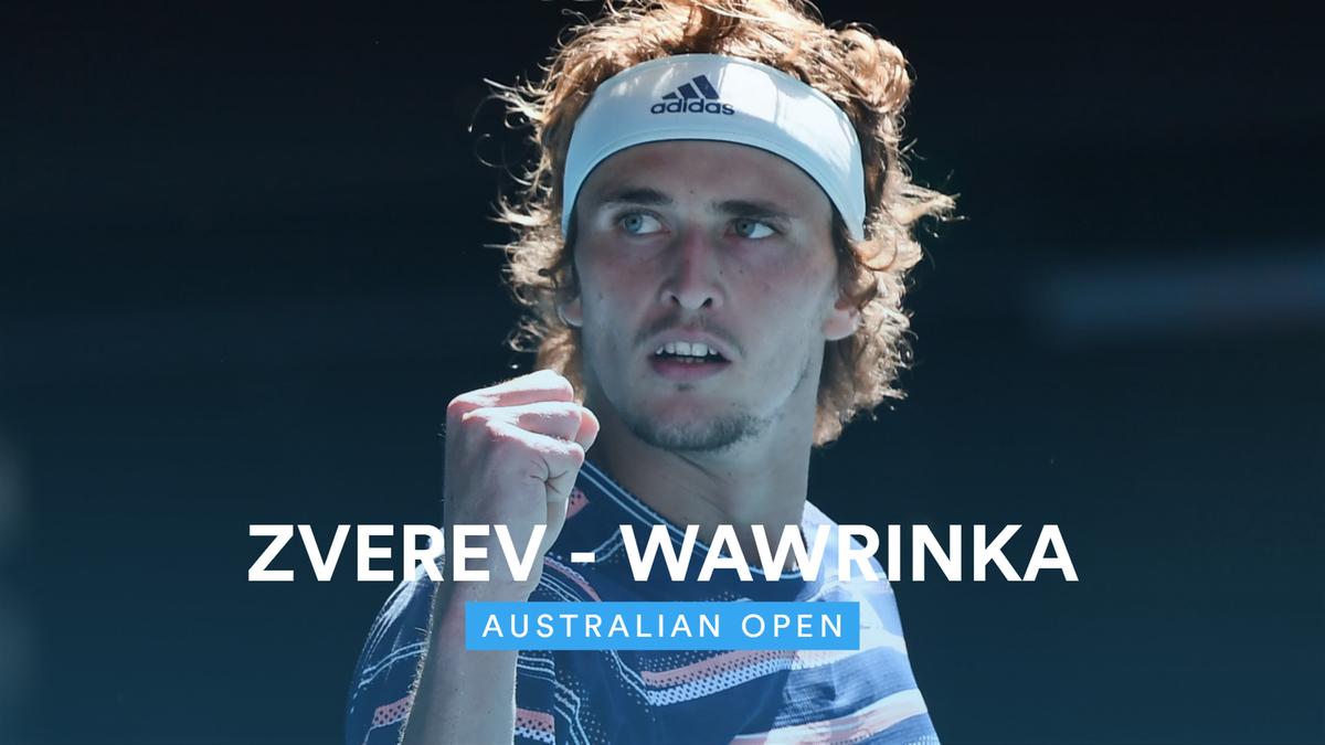 Australian Open - Highlights Wawrinka vs Zverev