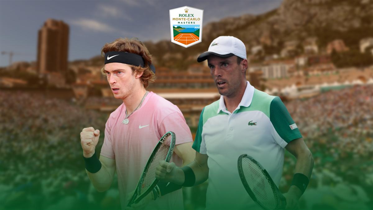 Andrey Rublev vs. Roberto Bautista Agut | Rolex Monte-Carlo Masters 2021 | Premium Content