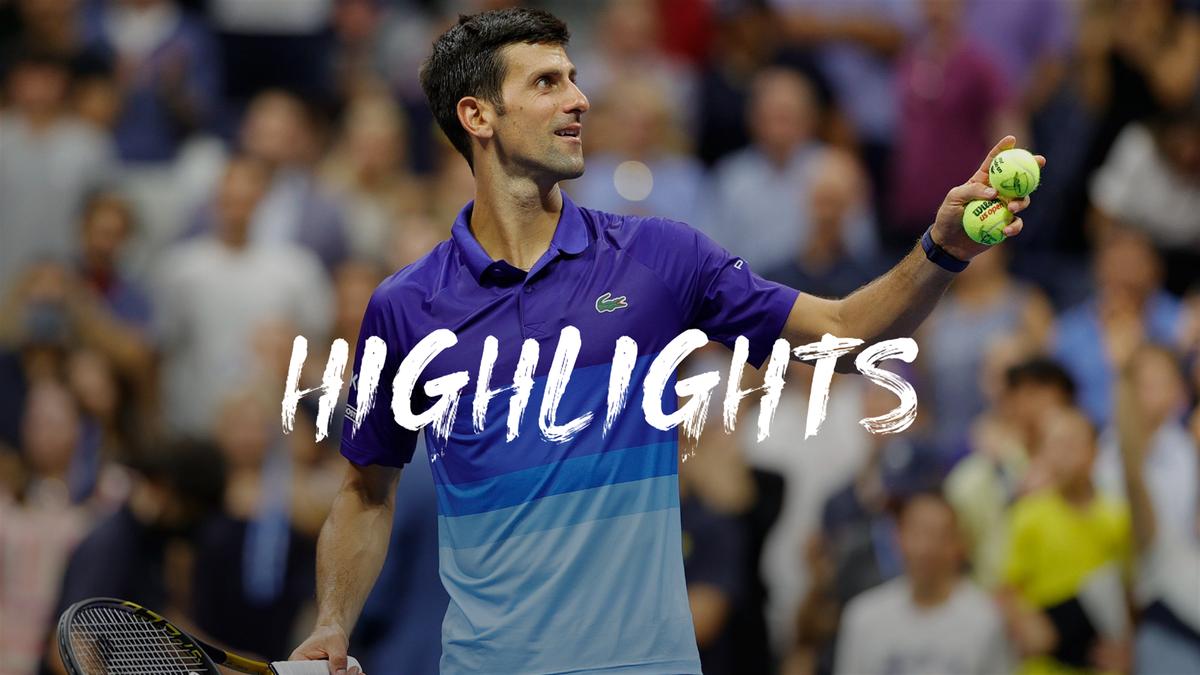 US Open   Djokovic zet met winst eerste stap op weg naar Calendar Grand Slam