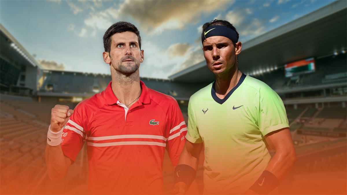 Nadal - Djokovic im Habfinal-Duell bei Roland-Garros 2021