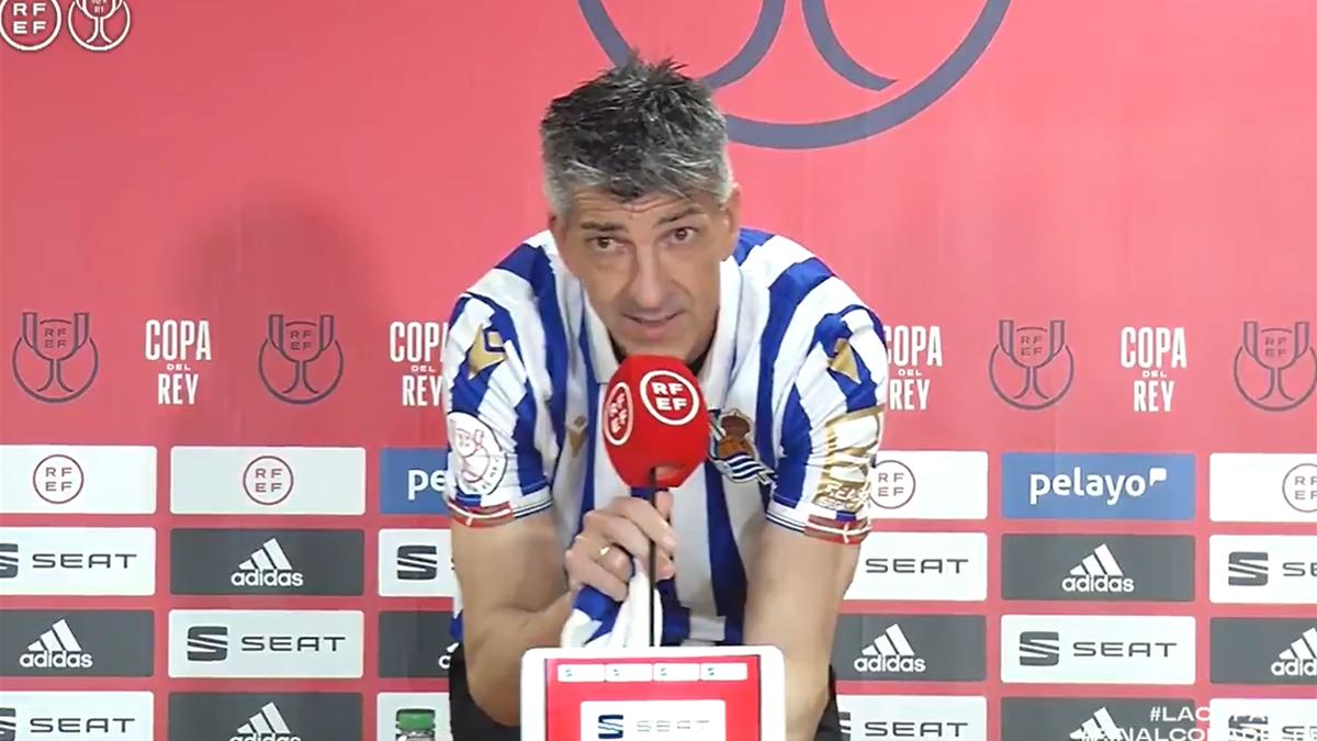 Imanol Alguacil, antrenorul lui Real Sociedad