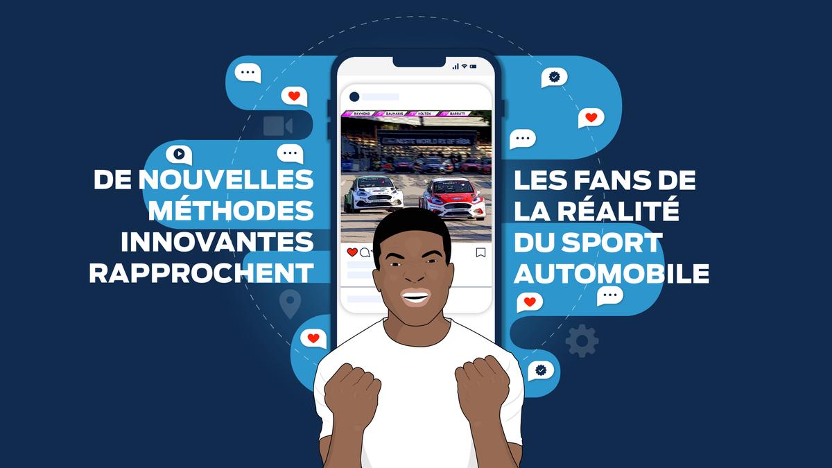 De nouvelles méthodes innovantes amènent les fans au coeur du sport automobile
