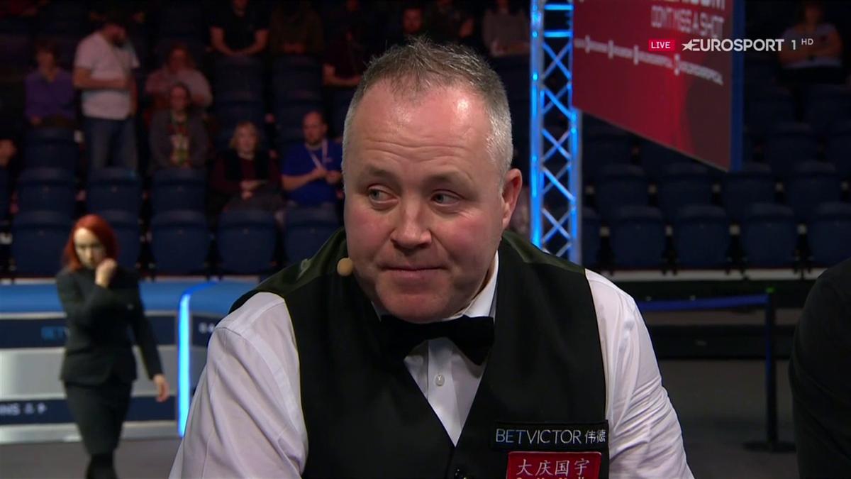 Scottish Open : John Higgins post match studio interview