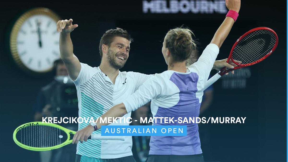 Australian Open : double mixed final - highlights