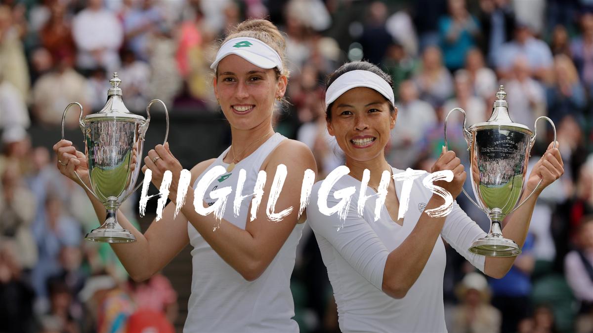 Wimbledon: Kudermetova/Vesnina - Hsieh/Mertens összefoglaló