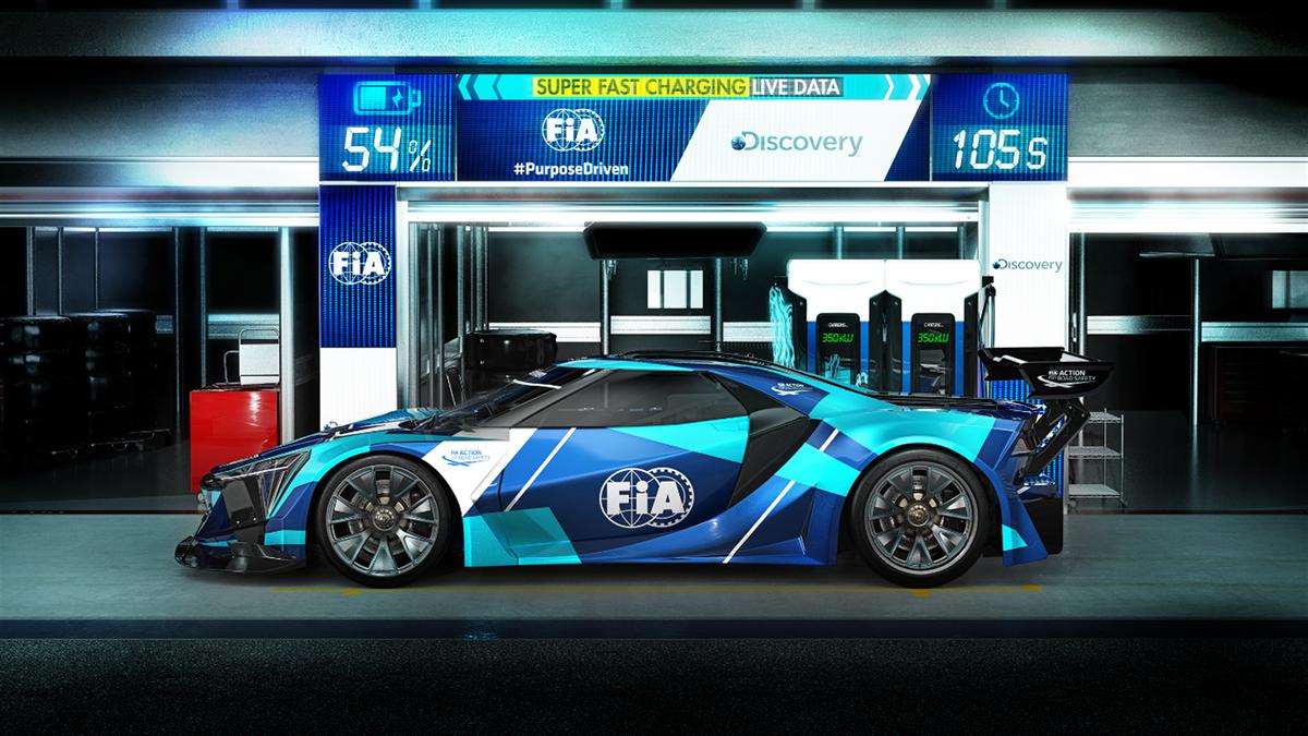 FIA ed Eurosport Events presentano il Campionato Electric GT (Credit FIA)