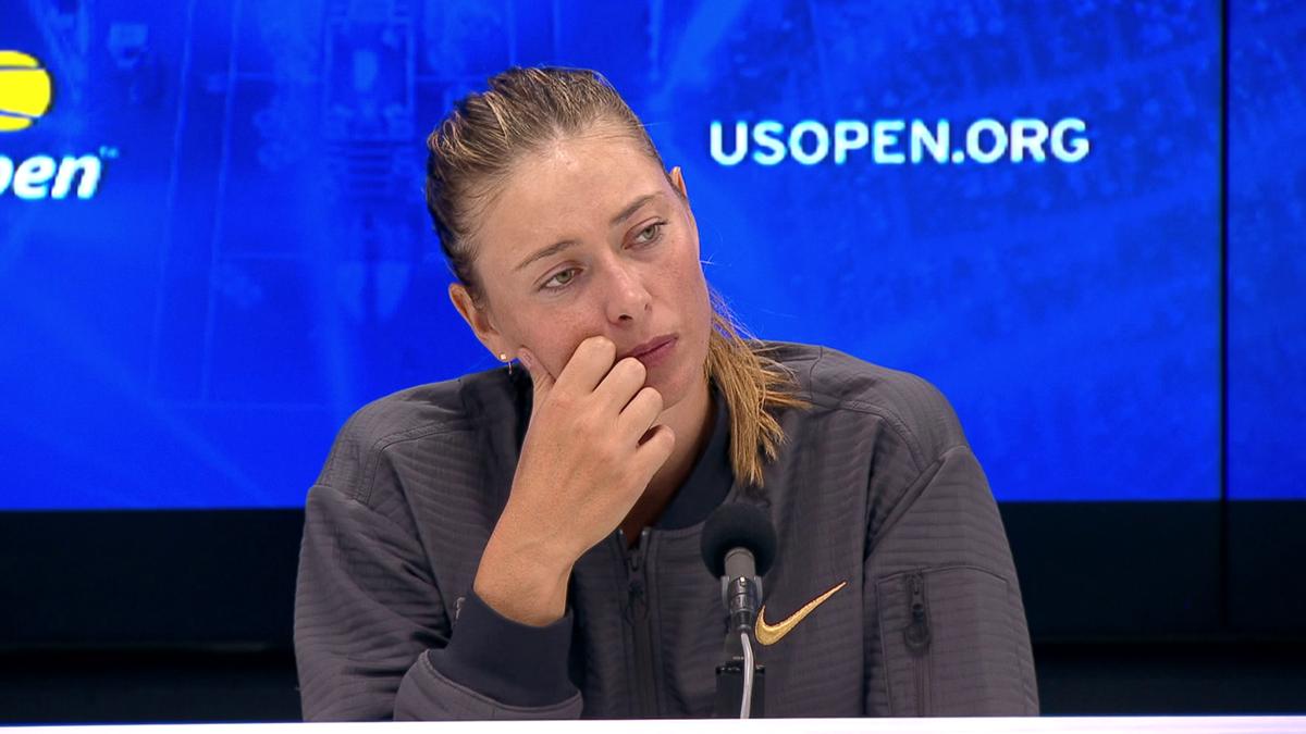 US Open : Sharapova full press-conference (in english)