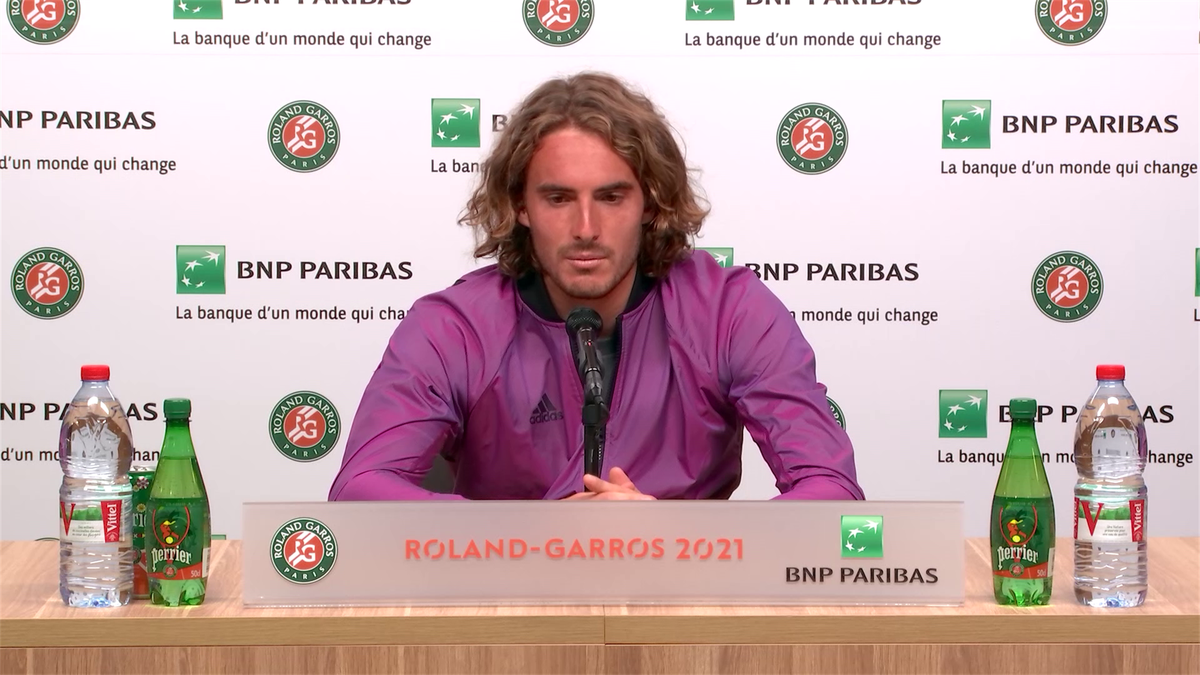 Stefanos Tsitsipas: I want to be the surprise of the tournament