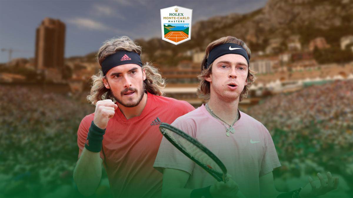Andrey Rublev vs. Stefanos Tsitsipas | Rolex Monte-Carlo Masters 2021 | Premium Content