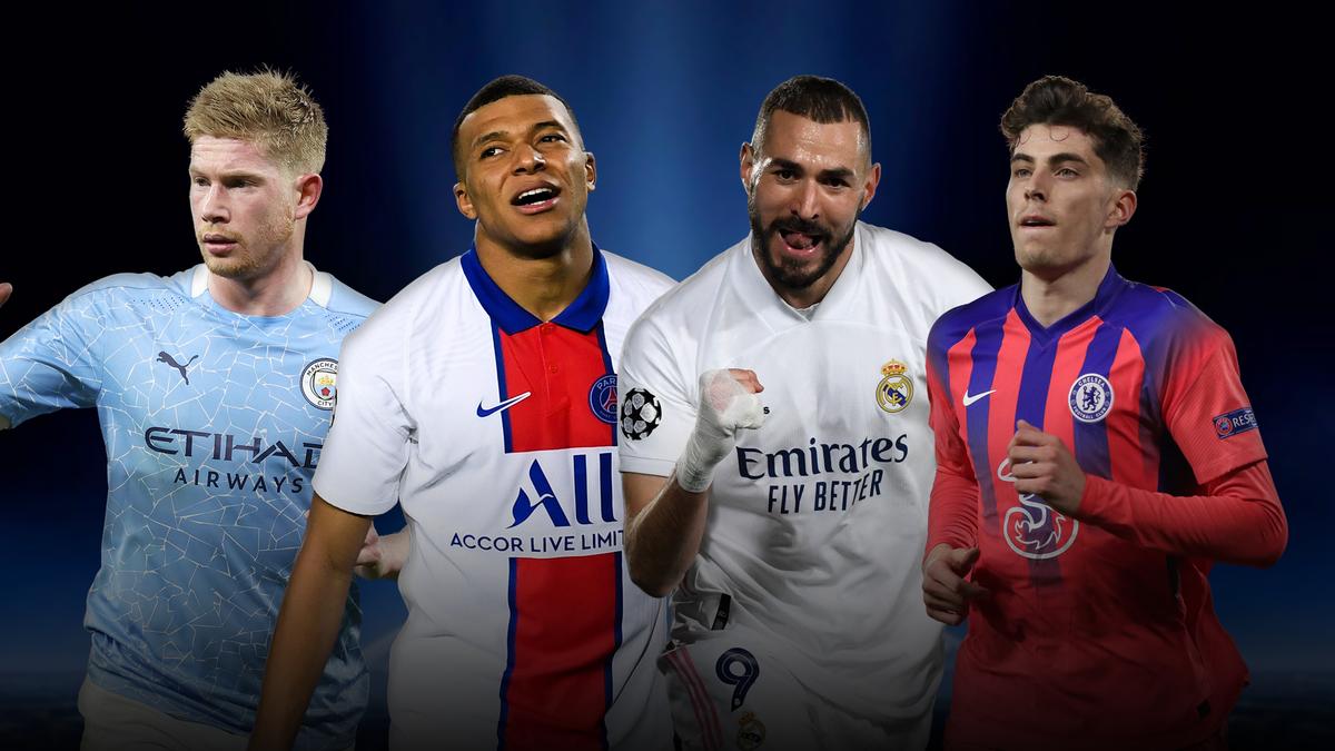 De Bruyne, Mbappe, Benzema, Mount | Champions League 2021