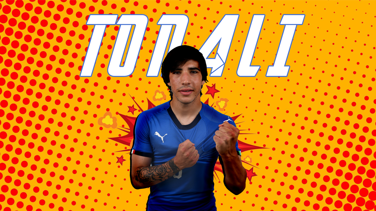 Tonali e considerat unul dintre cei mai talentați jucători din lume