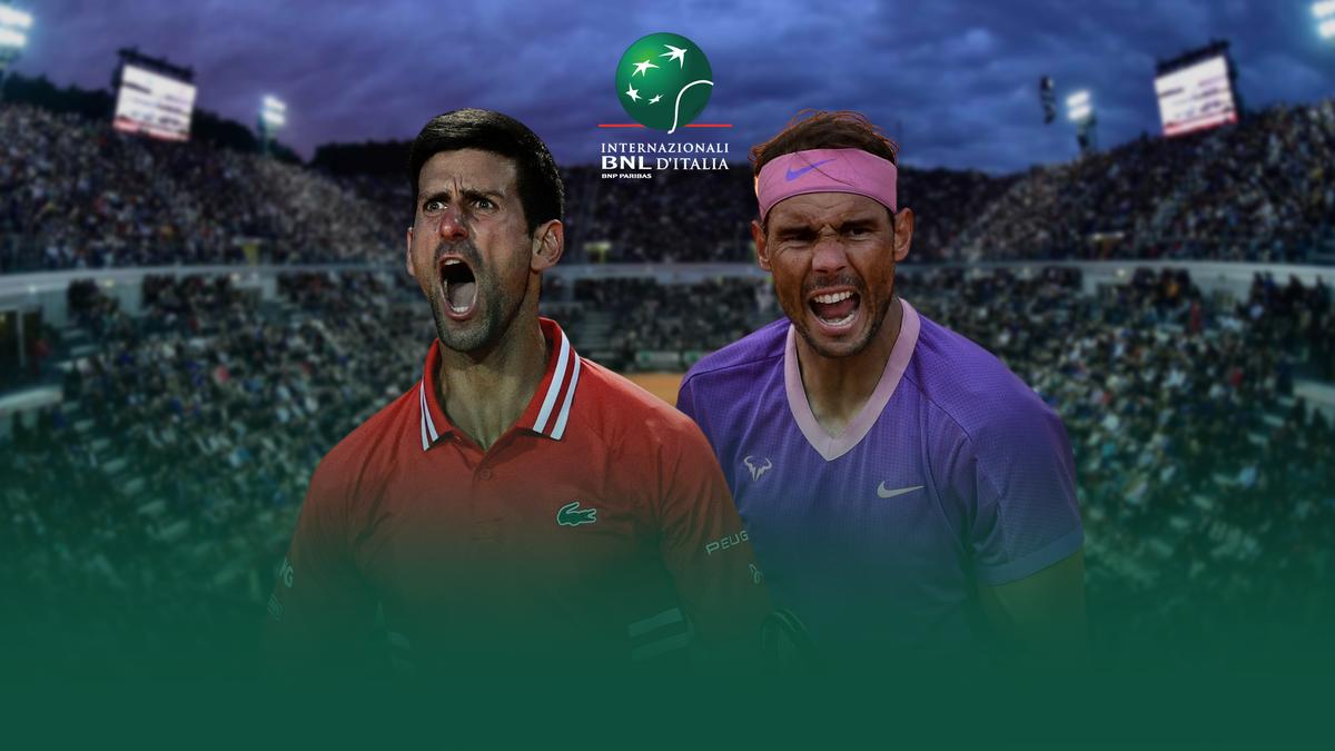 Novak Djokovic vs. Rafael Nadal | ATP Masters 1000 Rome 2021 | Premium Content Eurosport