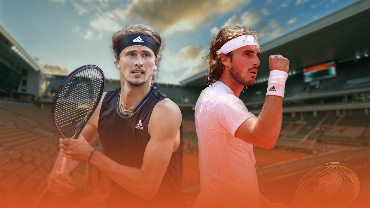 Alexander Zverev vs. Stefanos Tsitsipas | Semi-final, Roland-Garros 2021 | Eurosport Premium Content