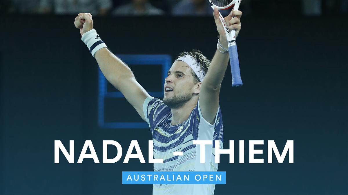 Australian Open:  Highlights Thiem - Nadal