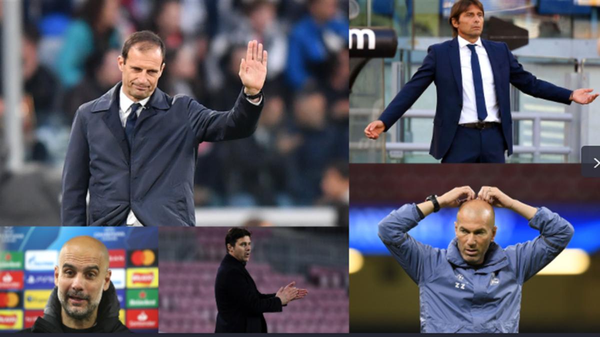 Schimbări de antrenori la cel mai înalt nivel, în Europa