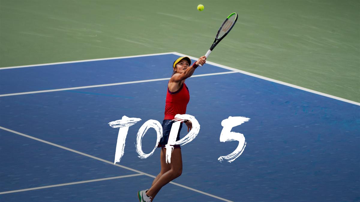US Open   Dit zijn de vijf beste en mooiste punten van dag 2
