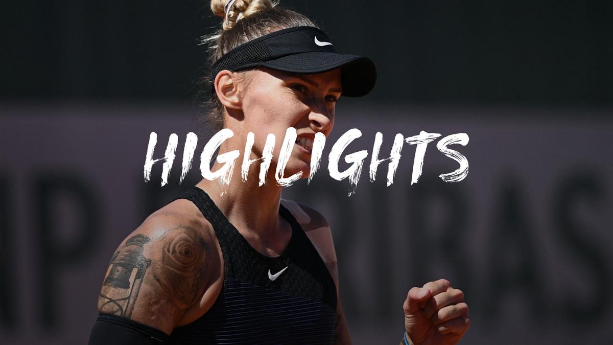 Roland Garros | Hoogtepunten Hercog - Bertens - Ronde 1