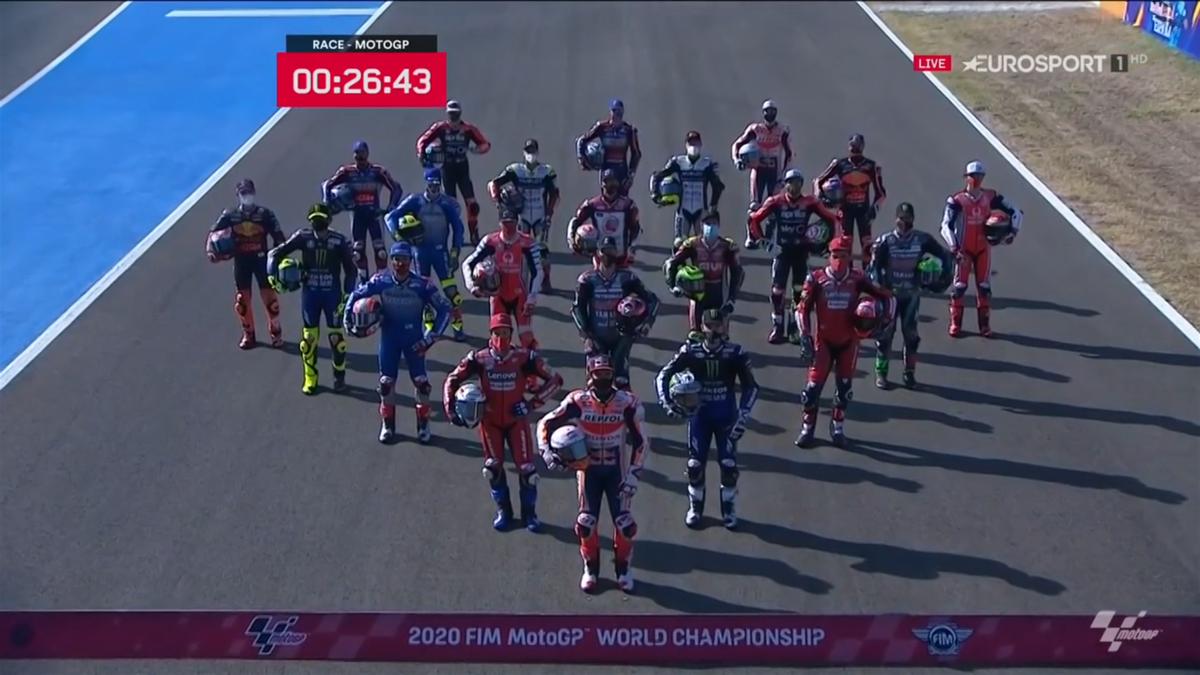 MotoGP grid