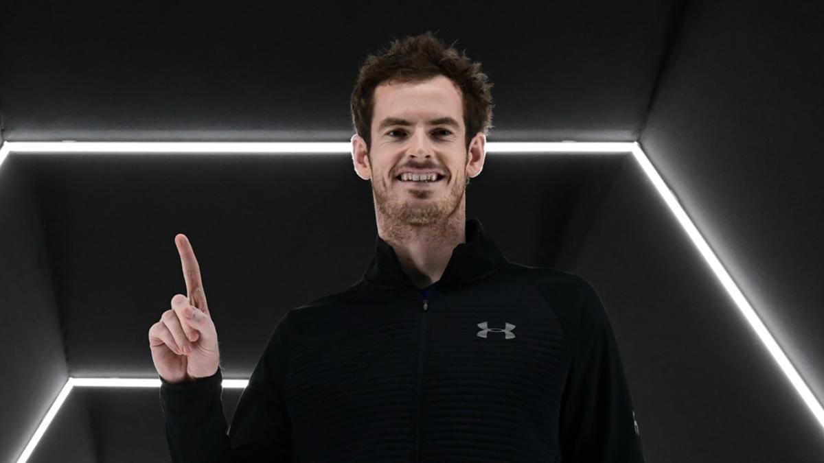 Andy Murray, vainqueur du Masters 1000 de Paris 2016