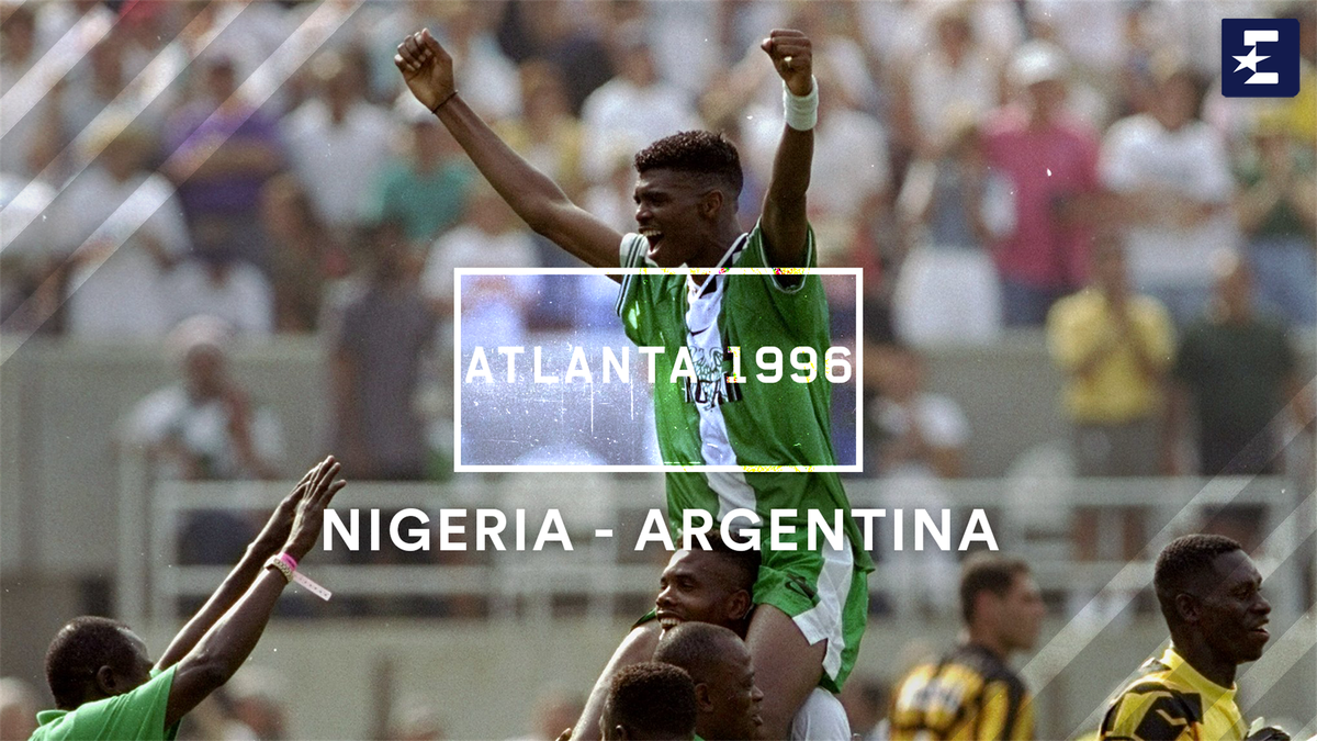 1996 Olympics: Silky Nigeria stun Argentina to win football gold