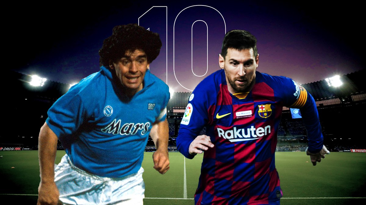 Maradona-Messi, Napoli-Barcellona