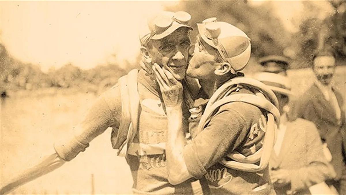 Henri Pélissier en zijn broer Francis