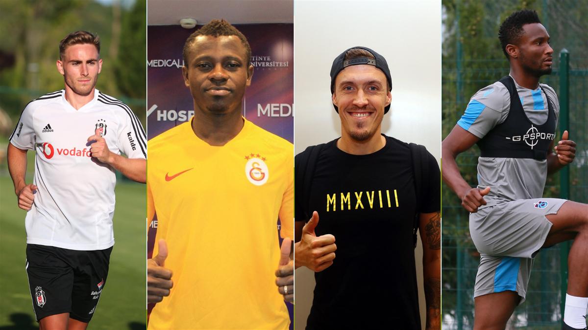 Tyler Boyd (Beşiktaş), Jean-Michel Seri (Galatasaray), Max Kruse (Fenerbahçe), John Obi Mikel (Trabzonspor)