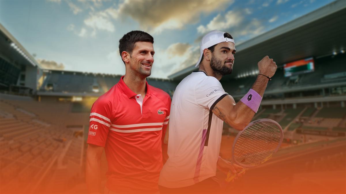 Novak Djokovic vs. Matteo Berrettini | Quarter final, Roland-Garros 2021 | Eurosport Premium Content