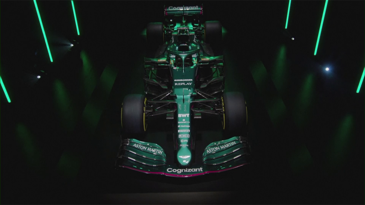 Les élégantes Aston Martin et Alpine, la surprenante Williams : les monoplaces de la saison 2021