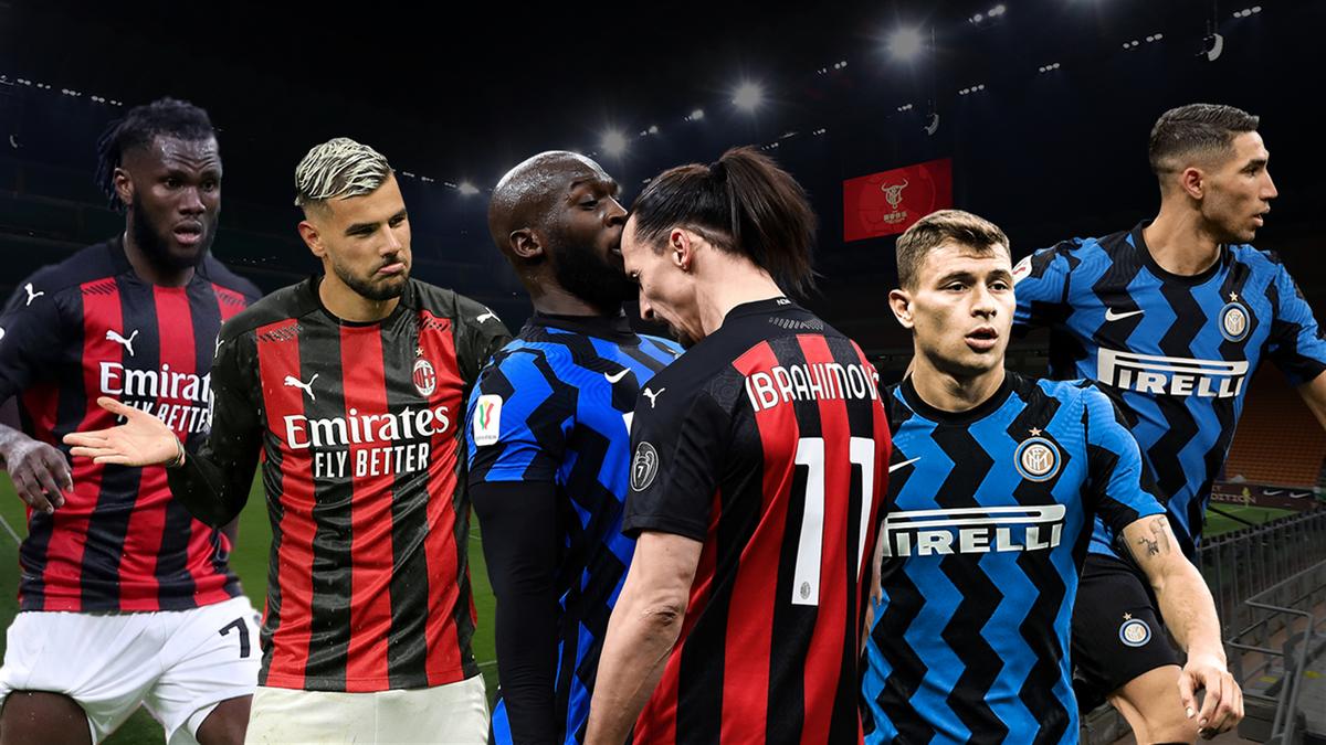 Copertina Milan-Inter