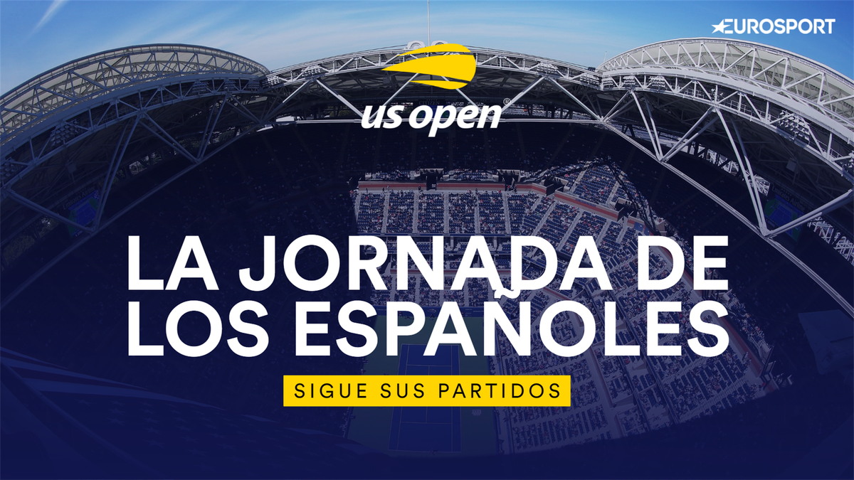 Sigue los partidos y los resultados de los españoles en el US Open 2020