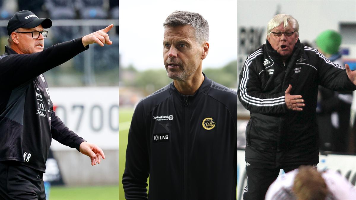 Kjetil Rekdal, Kjetil Knutsen, Nils Arne Eggen