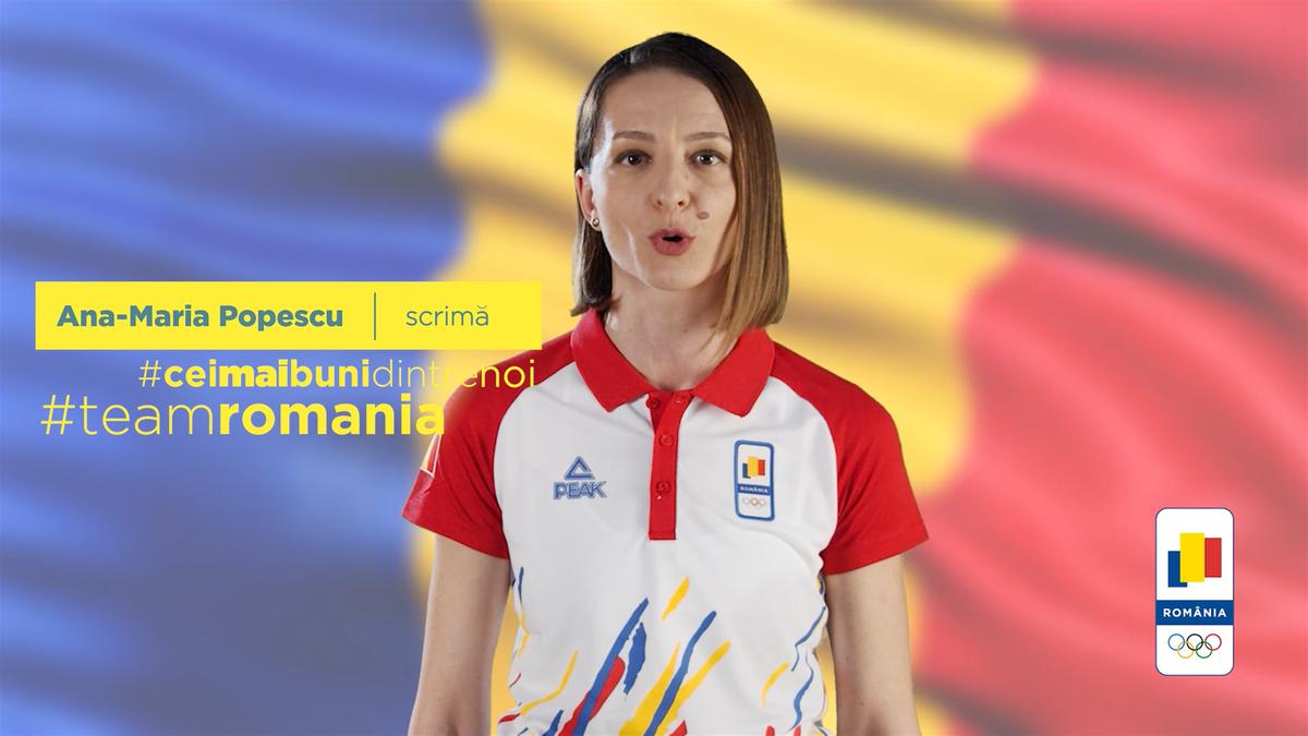 #ROADTOTOYKO Campioana Ana Maria Popescu, mesaj la un an distanță de Jocurile Olimpice de la Tokyo