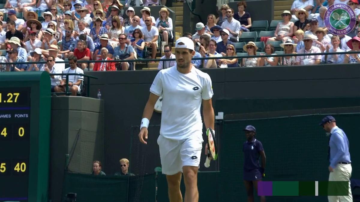 Wimbledon : Highlights Fabbiano vs Wawrinka