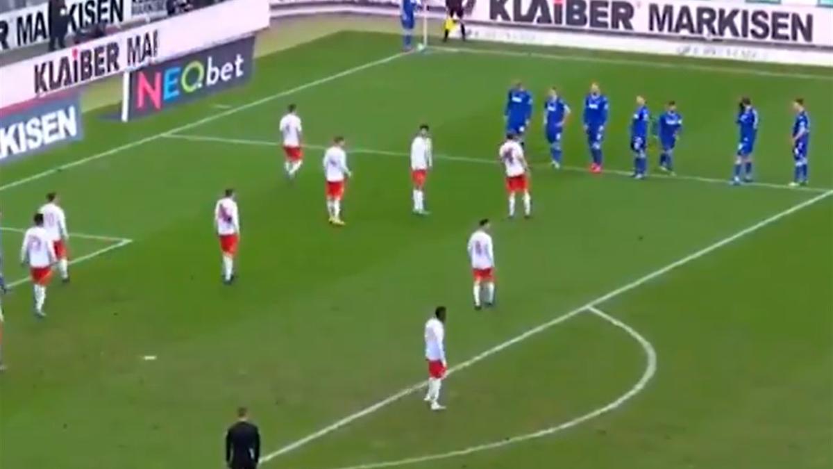 Schemă unică în fotbal! Cum au executat nemții un corner