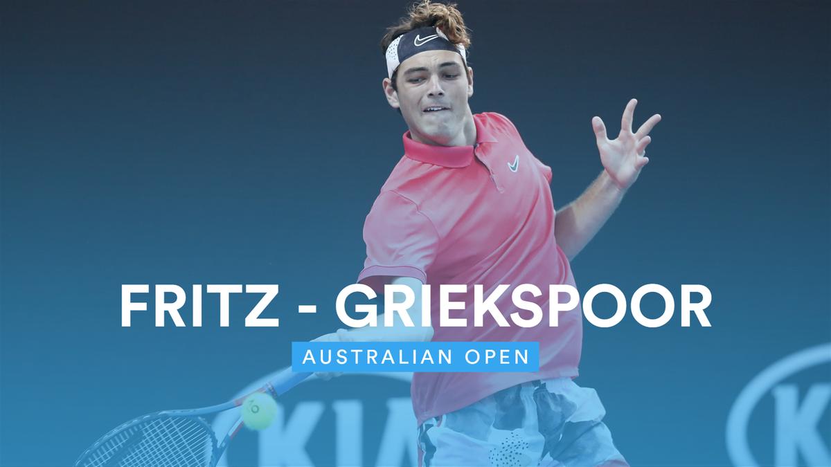 Australian Open - highlights: Fritz - Griekspoor
