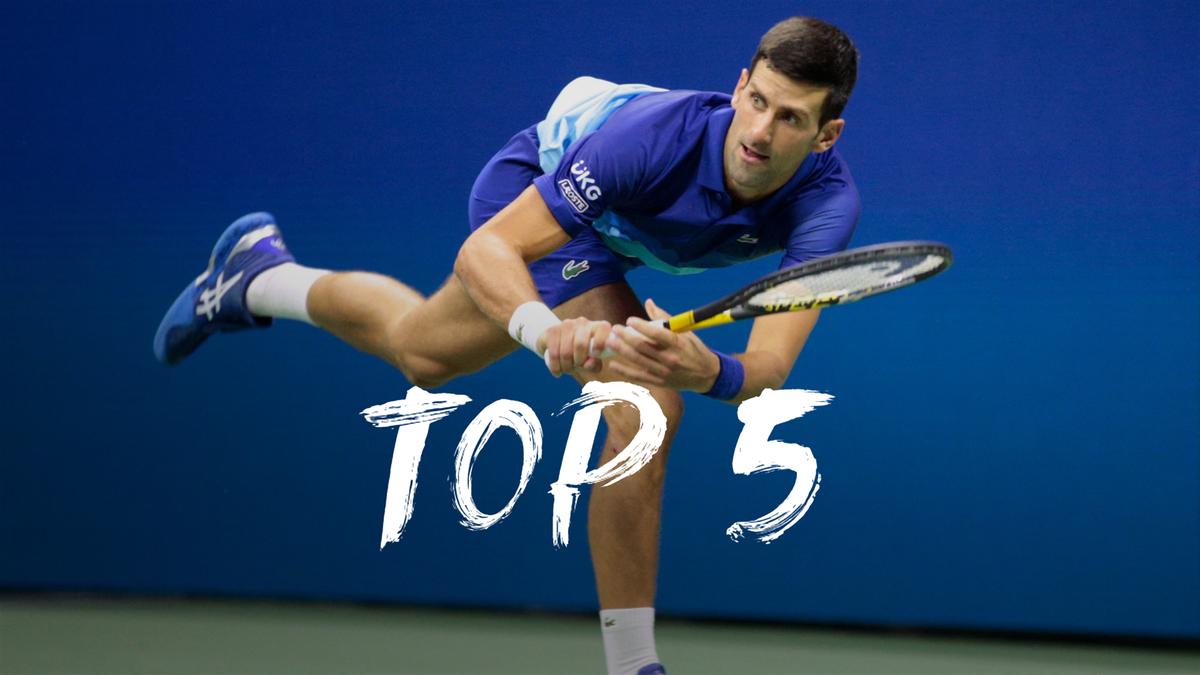 US Open| Dit zijn de vijf mooiste punten van dag 12