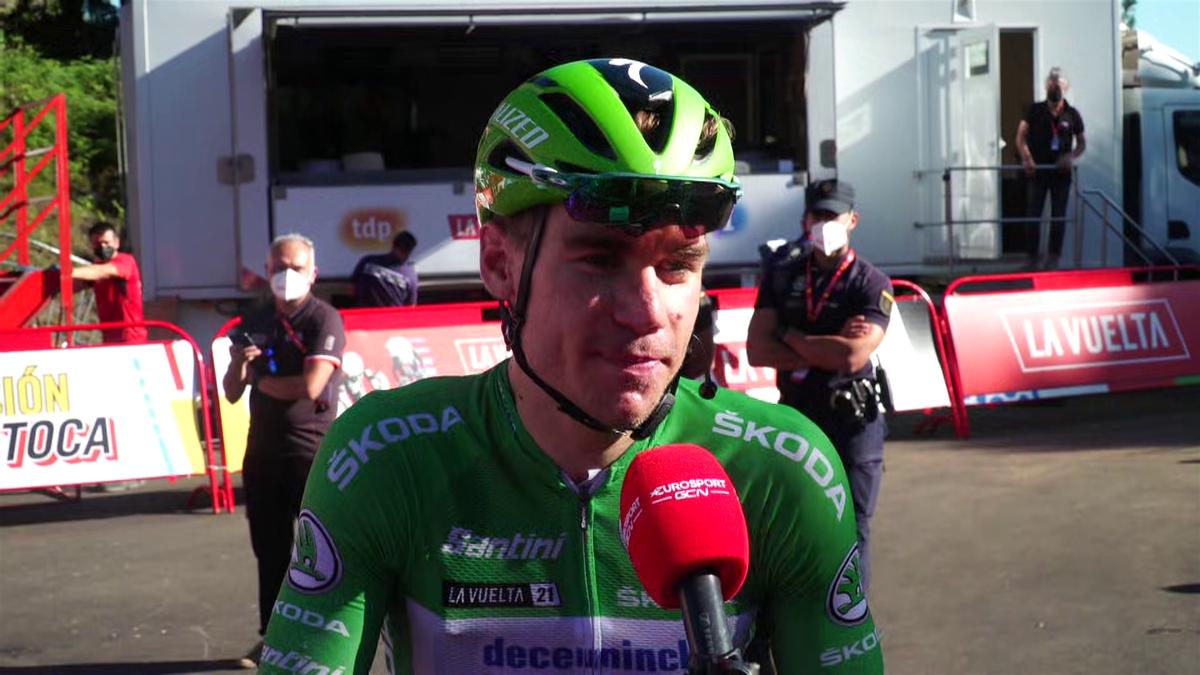 La Vuelta | Jakobsen finisht de 20e etappe binnen de tijd en wint groene trui