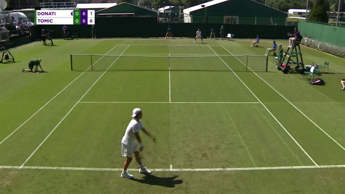 Wimbledon : Qualifiers Day 1 highlights