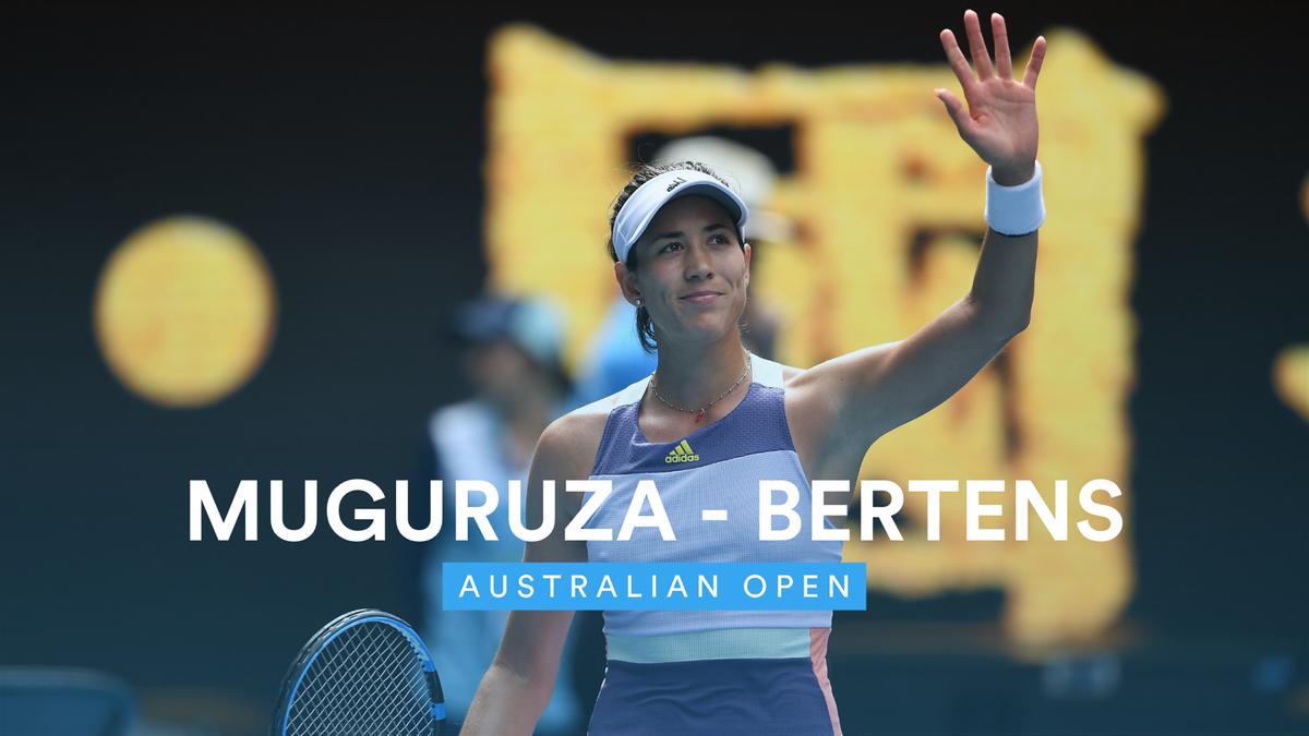Australian Open : Highlights - Muguruza - bertens (VM)