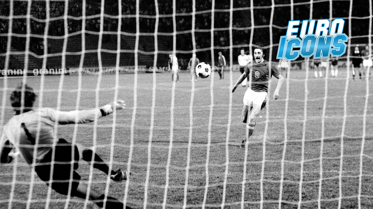 Antonin Panenka and his penalty