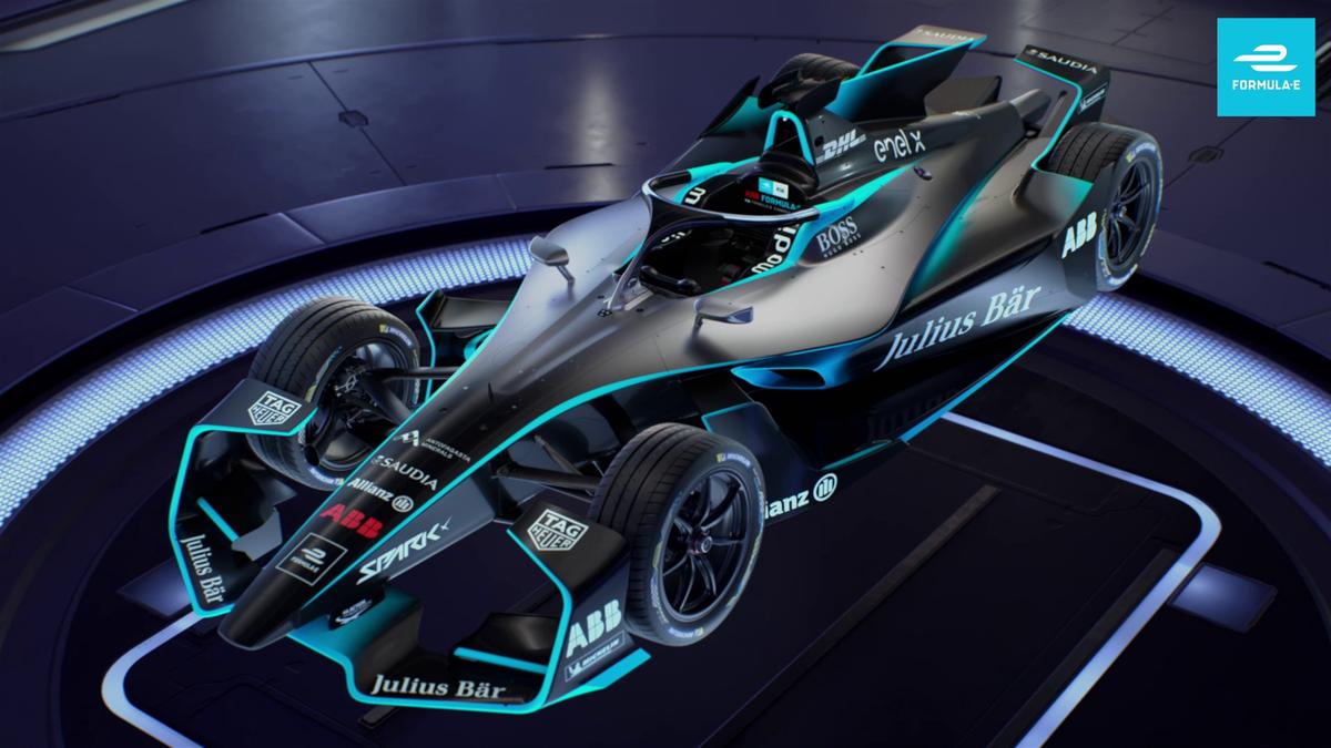 Formula E - Gen2 Evo propotion clip for Formula E championship