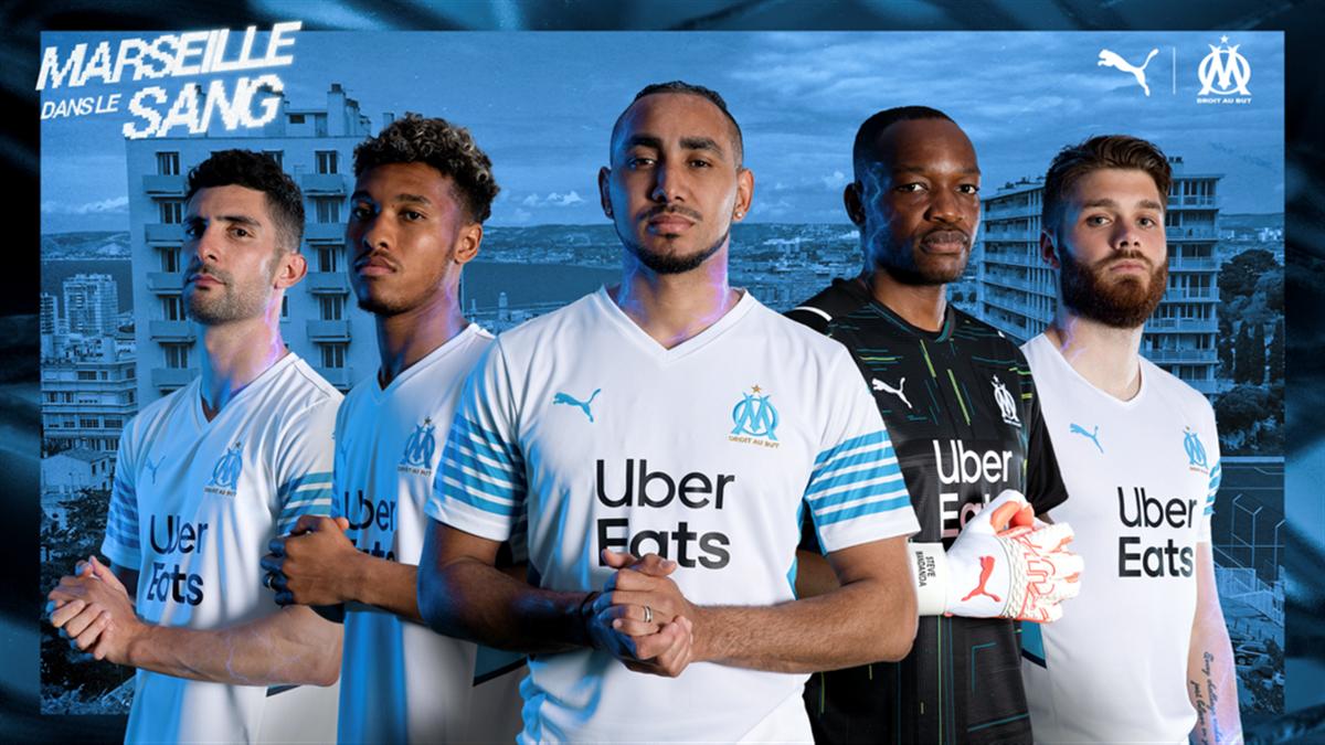 L'Olympique de Marseille dévoile son nouveau maillot pour la saison 2021/2022