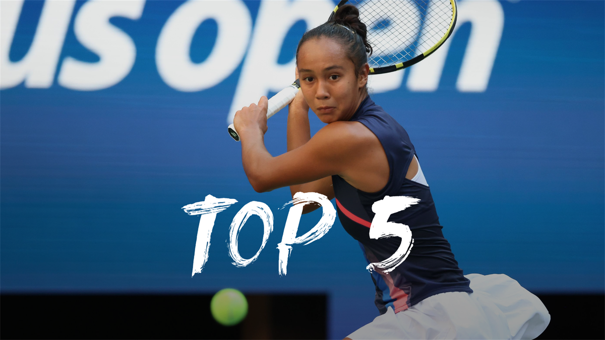 US Open   Dit zijn de vijf mooiste punten van dag 9