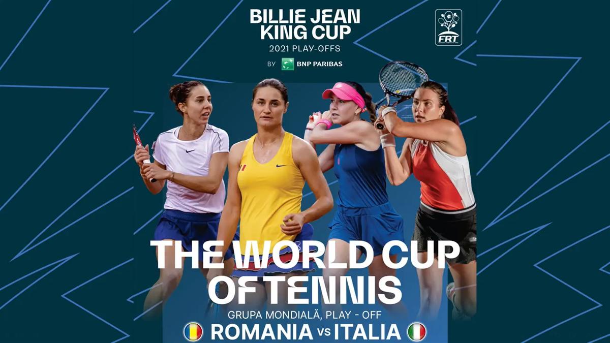 România -Italia în Fed Cup